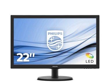 Philips V Line LCD-monitor met SmartControl Lite 223V5LHSB2/01