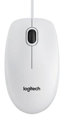 Logitech B100 muis USB Type-A Optisch 800 DPI Ambidextrous