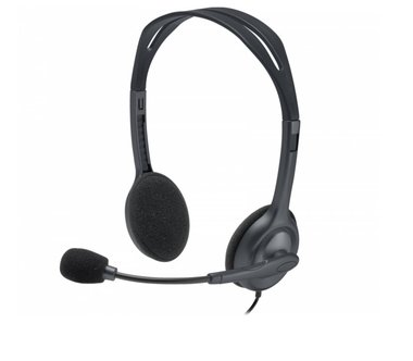 Logitech H111 Headset Hoofdband 3,5mm-connector Grijs