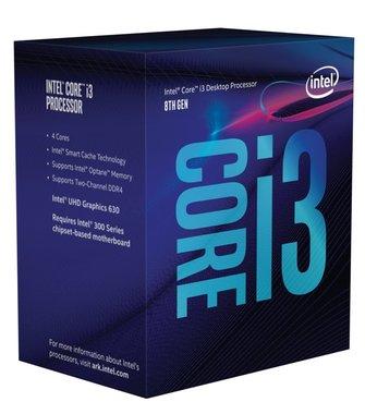 Intel Core i3-8100 processor 3,6 GHz 6 MB Smart Cache Box
