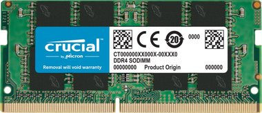 Crucial CT8G4SFRA266 geheugenmodule 8 GB 1 x 8 GB DDR4 2666 MHz