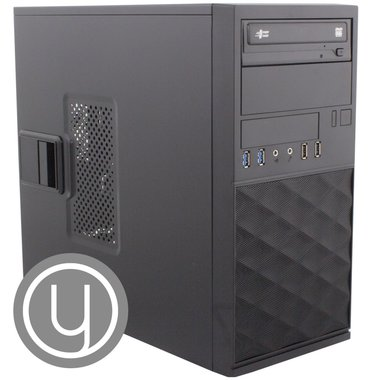 YOURS GREY / mATX / Ryzen 5-3400G  / 8GB / 1TB + 480 / HDMI / W10