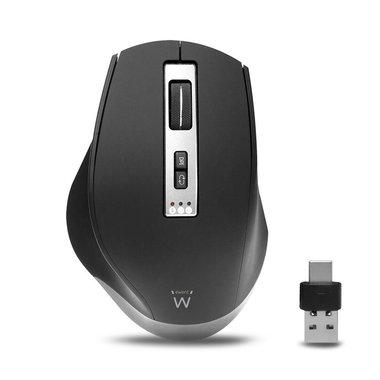 Ewent EW3240 muis Rechtshandig RF draadloos + Bluetooth 2400 DPI