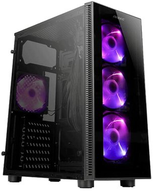 Antec NX210 Midi-Toren Zwart