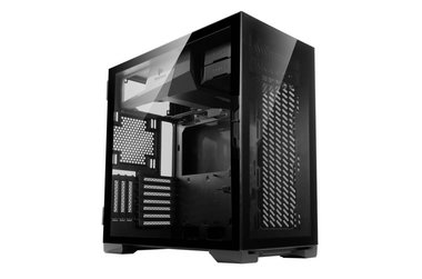 Case Antec P120 Crystal Midi Tower Glass Steel Black