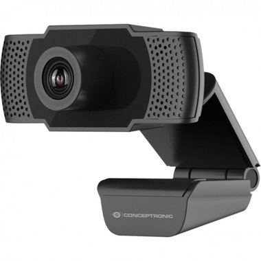 Conceptronic AMDIS webcam 2 MP 1920 x 1080 Pixels USB 2.0 Zwart