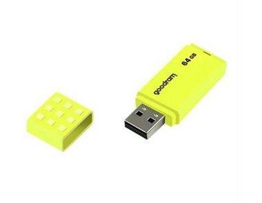 Goodram UME2 USB Flashdrive 64GB USB Type-A 2.0 Geel