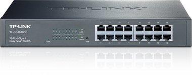 TP-LINK TL-SG1016DE Managed L2 Gigabit Ethernet (10/100/1000) Zwart