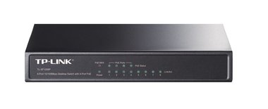 TP-LINK 8-port 10/100 PoE Switch Unmanaged Zwart Power over Ethernet (PoE)
