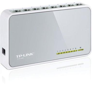 TP-LINK TL-SF1008D Unmanaged Fast Ethernet (10/100) Wit