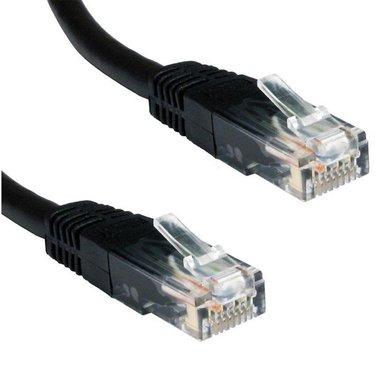 Ewent 0.5m Cat5e UTP netwerkkabel Zwart 0,5 m U/UTP (UTP)