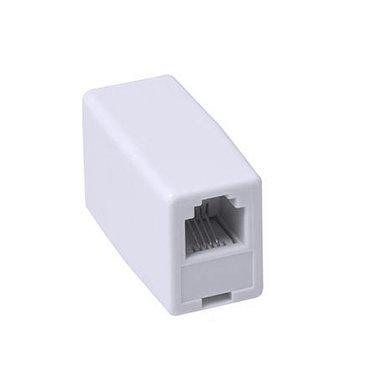 Ewent EW9001 tussenstuk voor kabels RJ-45 Wit