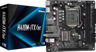 Asrock H410M-ITX/AC moederbord