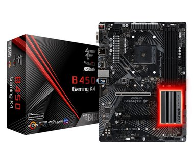 Asrock Fatal1ty B450 Gaming K4 AMD B450 Socket AM4 ATX