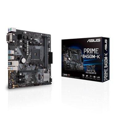 ASUS PRIME B450M-K Socket AM4 micro ATX AMD B450