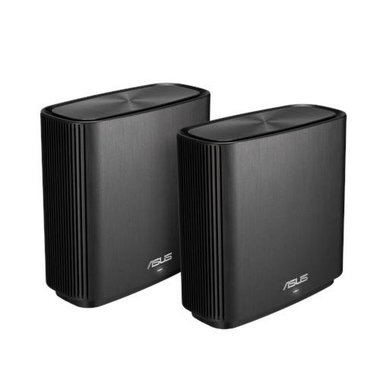 ASUS ZenWiFi AC (CT8) draadloze router Gigabit Ethernet Tri-band (2.4 GHz / 5 GHz / 5 GHz) Zwart